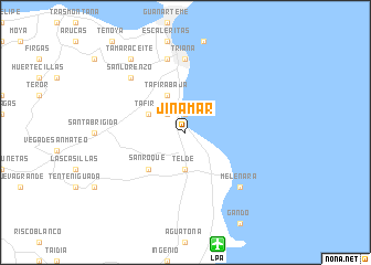 map of Jinámar
