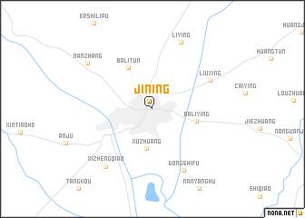 Jining China Map Nonanet - Jining map