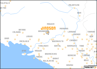 map of Jinoson