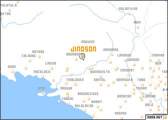 map of Jinoson