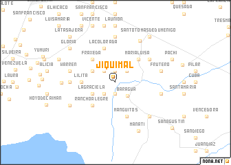 map of Jiquimal