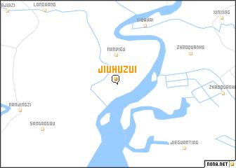 map of Jiuhuzui