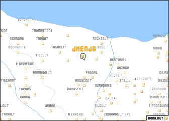 map of Jmenja