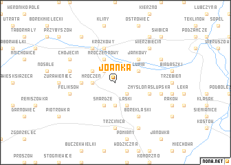map of Joanka