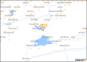 map of Joch