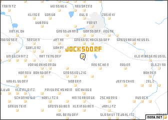 map of Jocksdorf