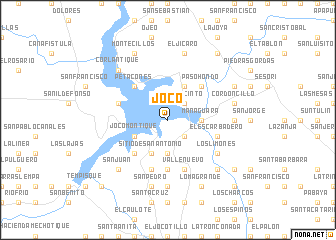 map of Joco