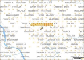 map of Johannisberg