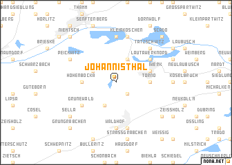 map of Johannisthal