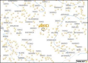 map of Jokići