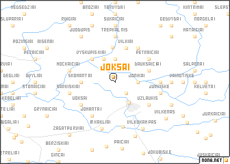 map of Jokšai
