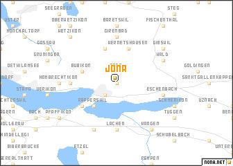 map of Jona