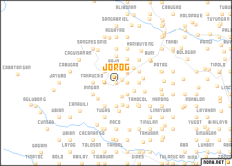 map of Jorog