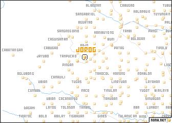 map of Jorog