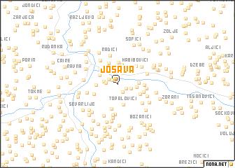 map of Jošava