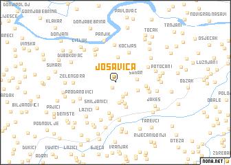 map of Jošavica