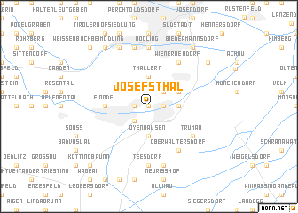 map of Josefsthal
