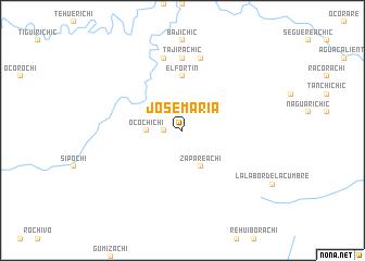 map of José María