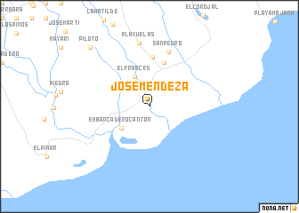 map of Jóse Méndeza