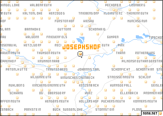 map of Josephshof