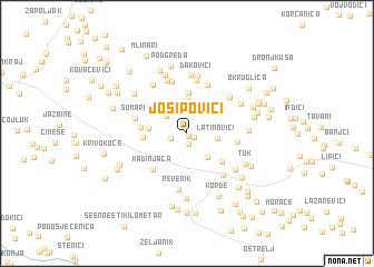 map of Josipovići