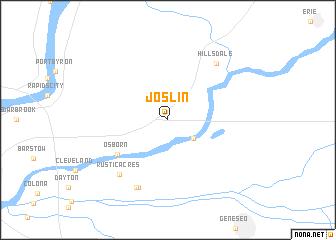 map of Joslin