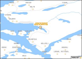 map of Jøssang