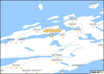 map of Jøssund