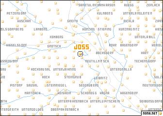 map of Jöss