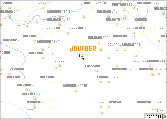 map of Jouaber