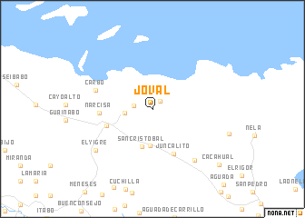 map of Joval
