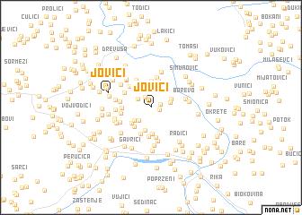 map of Jovići