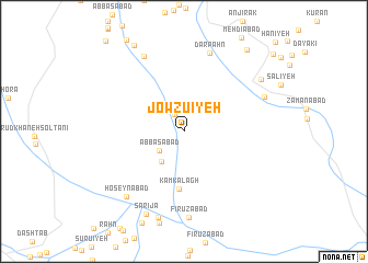 map of Jowzū\