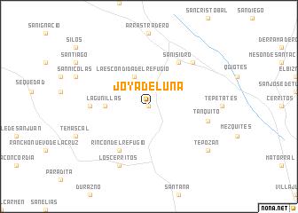 Joya De Luna Mexico Map Nona Net