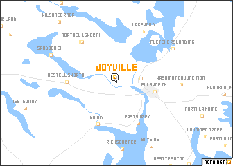 map of Joyville