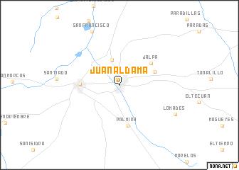 Jalpa Zacatecas Mexico Map.Juan Aldama Mexico Map Nona Net