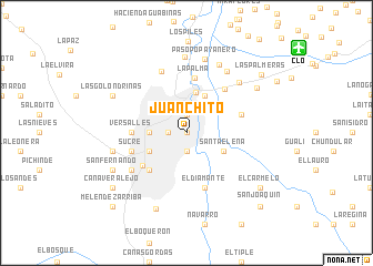 Juanchito colombia map nona map of juanchito altavistaventures Image collections