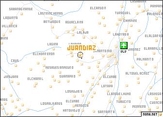 map of Juan Díaz