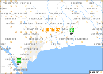 map of Juan Díaz