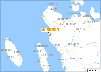 map of Jubasan