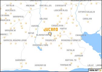 map of Júcaro