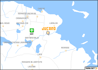 map of Júcaro