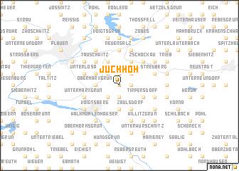 map of Juchhöh