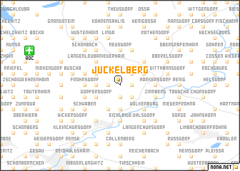map of Jückelberg