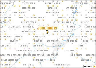 map of Judendorf