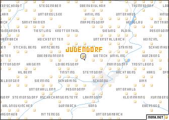 map of Judendorf