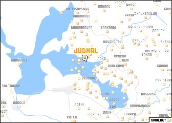 map of Judhāl