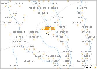 map of Jugaru