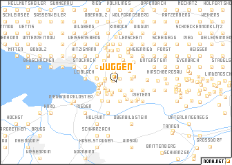 map of Juggen