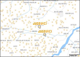 map of Jugovići